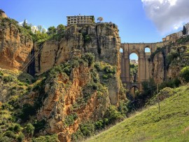 Routes across Ronda that are not available